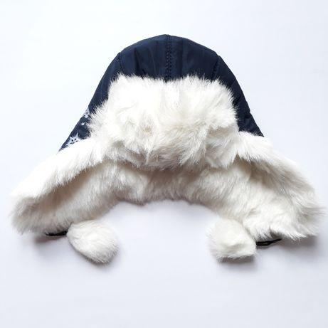 Новая шапка-ушанка для девочки