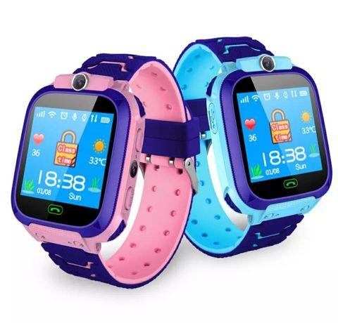 Relógio para crianças, com câmera, GPS, chamadas (Novo)
