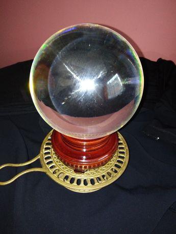 Ezoteryka,magia, kryształowa kula medytacyjna.
