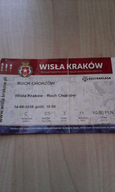 Wisła Kraków -Ruch Chorzów 14.08.2016