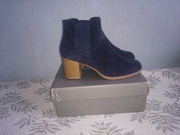 Ботинки Vagabond 40р кожа