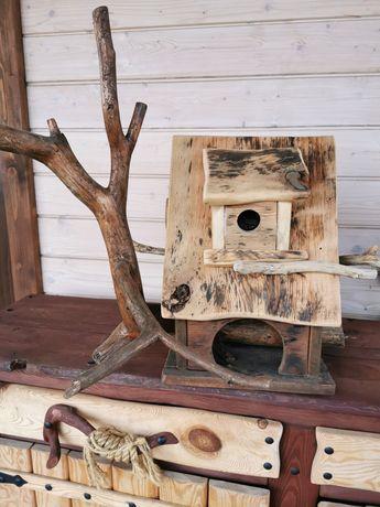Karmnik-domek dla ptaszkow