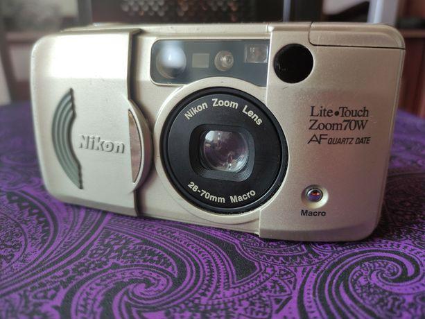 Nikon lite touch zoom 70w af (не canon, olympus mju)
