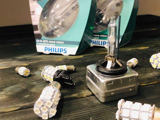 D1S D1R D2S D2R D3S D4S Philips Osram Премиум качество Ксенон Лампа