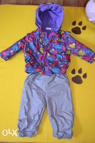 Куртка+штаны комплект демисезонный для девочки