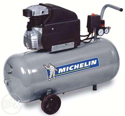 Compressor ar MICHELIN MB50 - 50 litros - 220V - 2HP - 200 lLs/min - 8