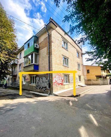 Двостороння квартира 45 кв.м під комерцію у самому центрі м.Луцьк