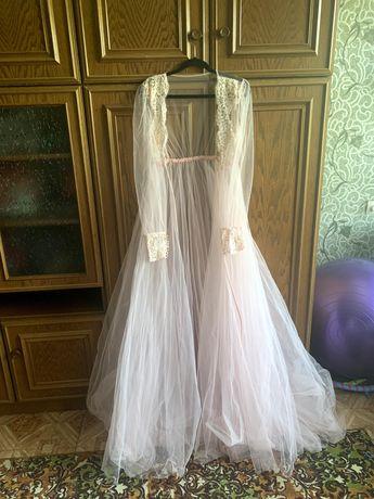 Пеньюар платье