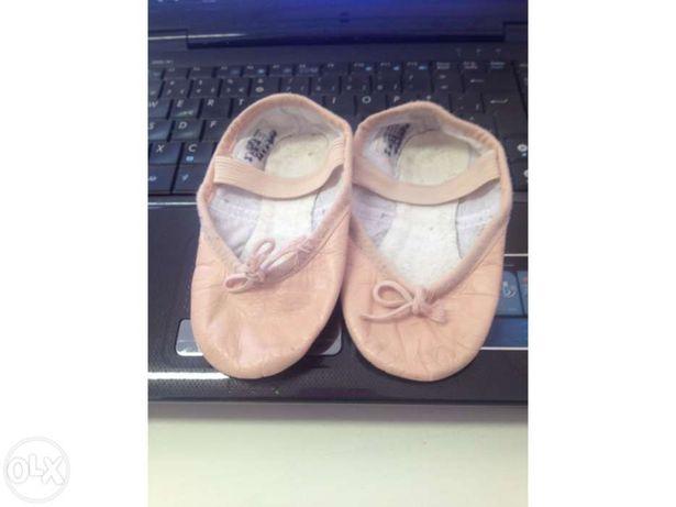 Sapatos de ballet menina 8c e 10c