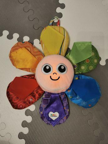 Lamaze świecący kwiatek, zabawka niemowleca 6m+