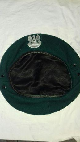 Beret wojskowy zielony nowy rozmiary 55 56