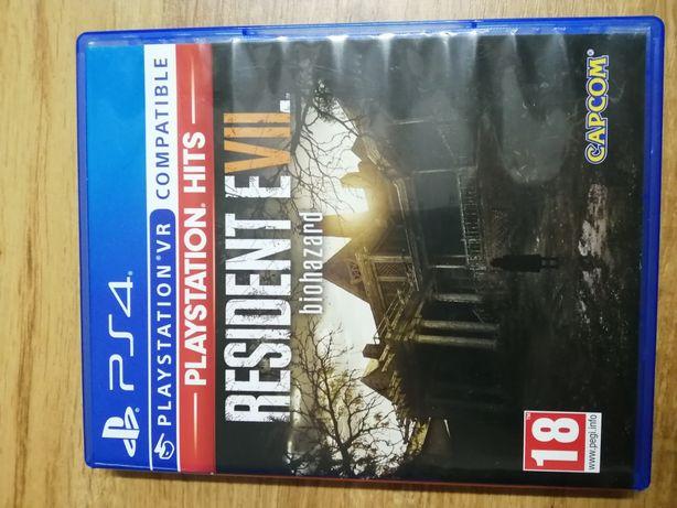 Resident evil 7 pl ps4 lub zamienię