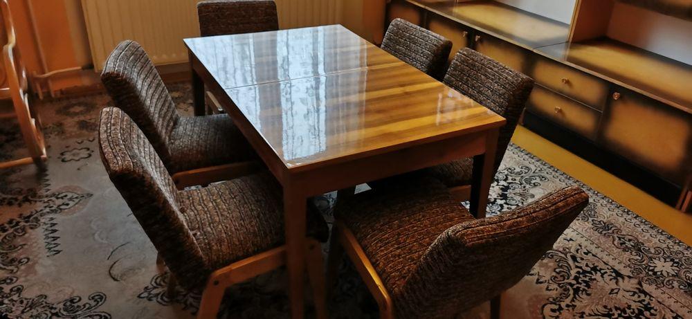 Stół do jadalni i 6 krzeseł Katowice - image 1