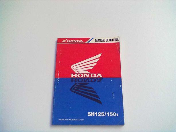 Manual Técnico Oficial Honda SH 125-150