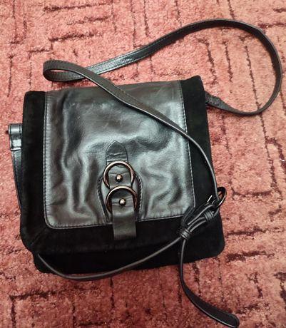 Шкіряна сумка Clarks