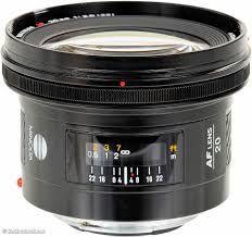 Minolta 20mm 2.8 A-mount Full Frame