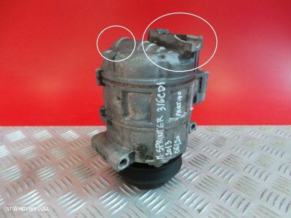 Compressor Do Ar Condicionado Mercedes-Benz Sprinter 3,5-T Caixa (906)