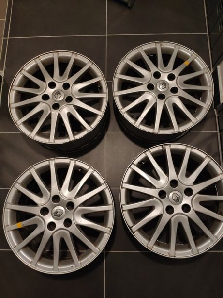 "Oryginalne aluminiowe felgi 17"" Renault Laguna III"