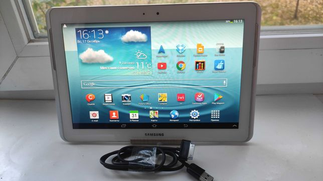 Продам планшет Samsung Galaxy Tab 2 10.1, 1/16GB.