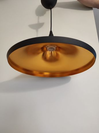 Lampa wisząca SONA czarna E27
