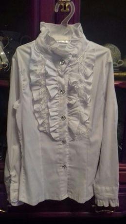 Нарядная блузка в школу