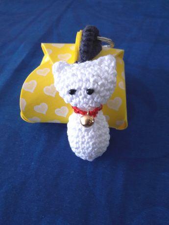 Gato Porta-chaves - artesanato