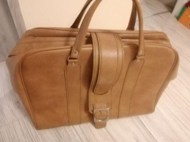 Torba skórzana (walizka)
