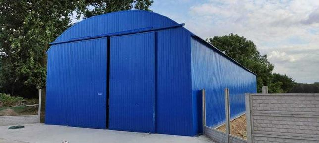 Hala Łukowa Garaż Wiata Hangar Magazyn