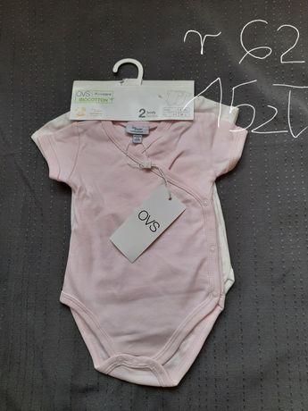 Ubranka r. 62-68 NOWE dla dziewczynki
