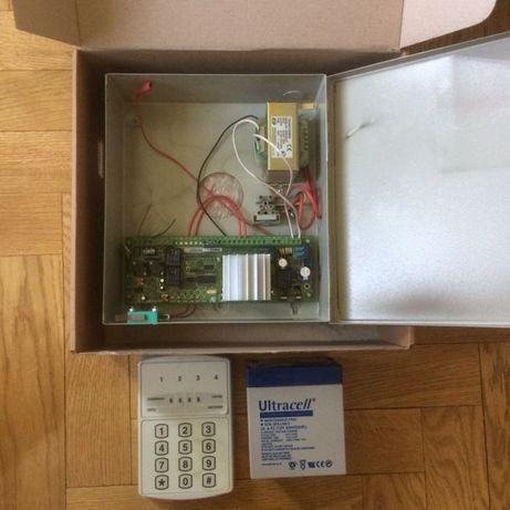 Комплект охранной сигнализации с НОВОЙ батареей полный