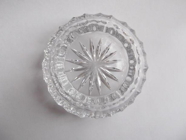 popielniczka kryształowa vintage PRL