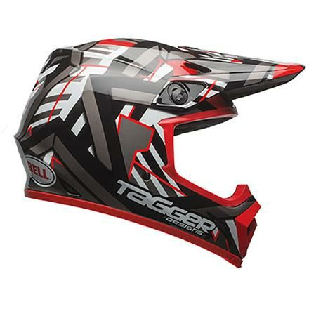 Kask BELL MX-9 Tagger MIPS XL 61-62 cm + rękawice Thor S9 GRATIS NOWY