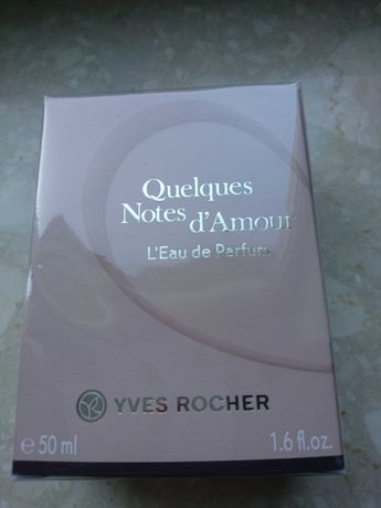 Quelques notes d'amour Yves Rocher