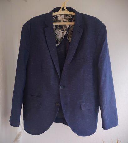 Котоновый мужской пиджак большого размера Angelo Litrico