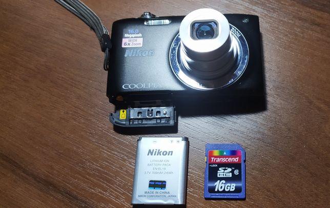 Фотоаппарат Nikon Coolpix S2700 Black