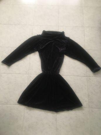 Vestido preto vintage