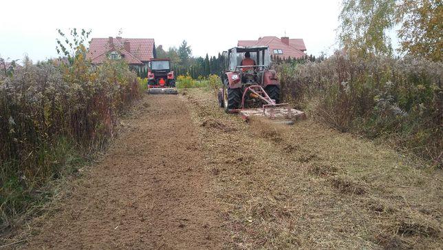 Koszenie nieuzytków, karczowanie, utrzymanie zieleni, trawnik