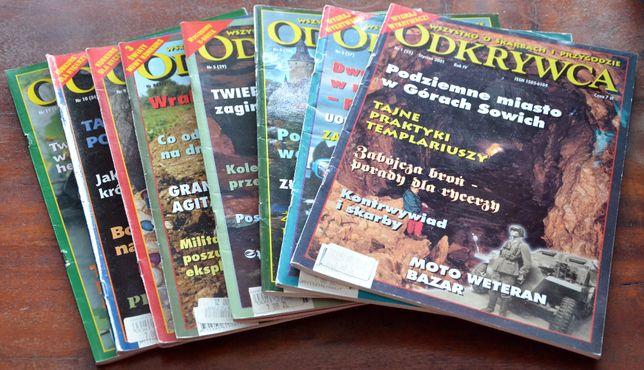 Magazyn ODKRYWCA - rocznik 2001