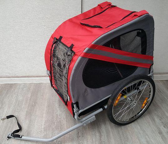 przyczepka rowerowa dla psa do transportu zwierząt do roweru