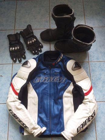Мотоэкип - куртка, боты, перчатки
