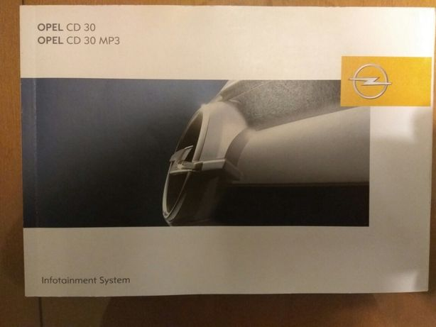 Instrukca obslugi radia Ople CD30 i CD30MP3