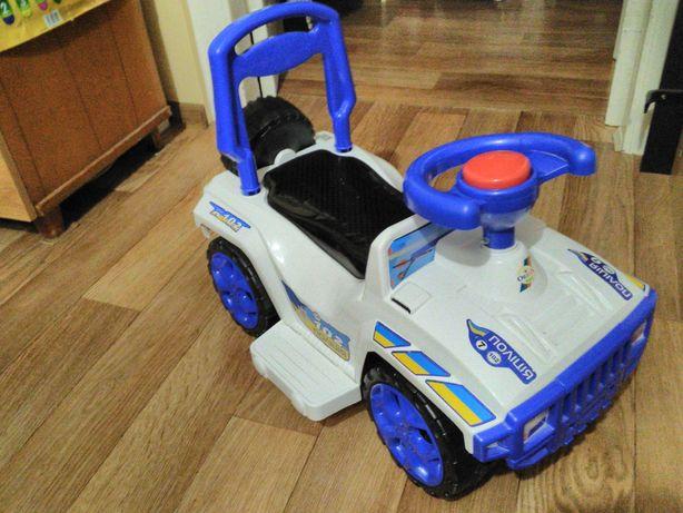 Каталка-Толокар Джип - Полицейская машина