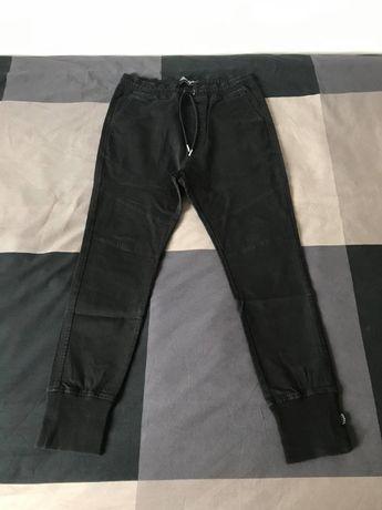Phenotype Dropcrotch Pants Black Jogger M Spodnie Czarne