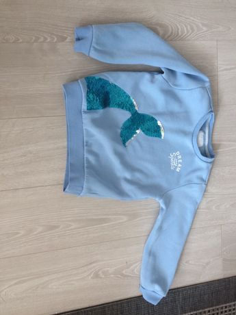 Bluza błękitna Reserved r. 128