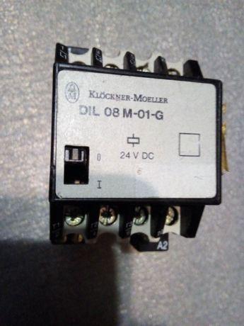 Контактор DIL 08 M-01-G пускатель 24V