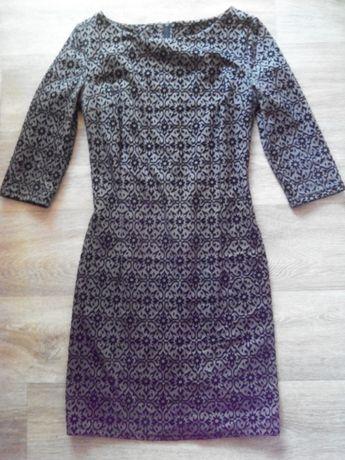 Фактурное платье с-ка