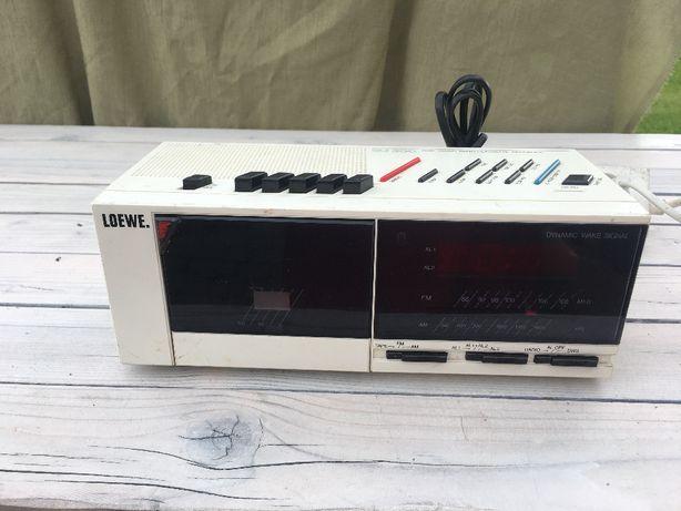 Radio budzik kaseta LOEWE