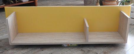 Półka wisząca kolorowa 3 sztuki_długość 111 cm,