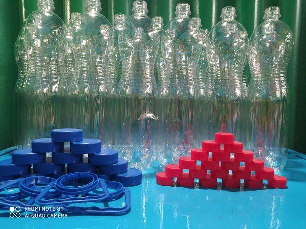 ПЭТ бутылки для воды,пива,сидра и т.д