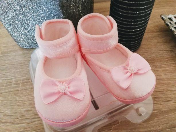Nowe, śliczne buciki Omnia Baby dla dziewczynki rozmiar 13.